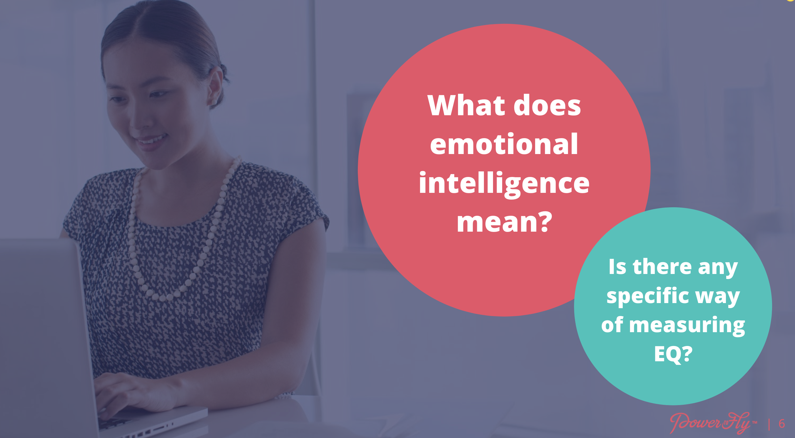 How do you help develop someone's emotional intelligence who has little self-awareness?